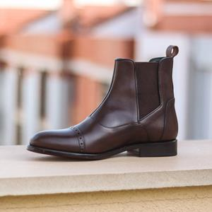 Brown Calf Chelsea Boot