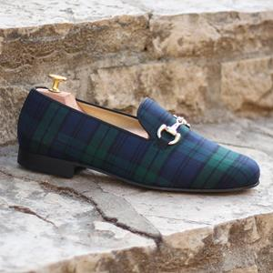 Black Watch Wellington Slipper