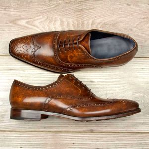 Dark Brown Patina Full Brogue