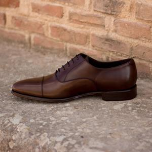 Dark Brown Calf Oxford
