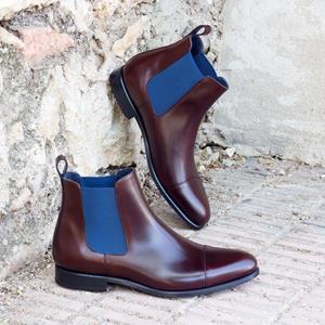 Burgundy Chelsea Boot