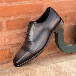 Grey Patina Oxford Captoe