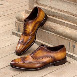 Cognac Patina Full Brogue