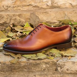 Med Brown Burnished Whole Cut
