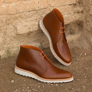 Med Brown Calf Chukka