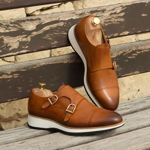 Brown Burnished Double Monk