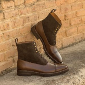 Brown Two-Tone Balmoral