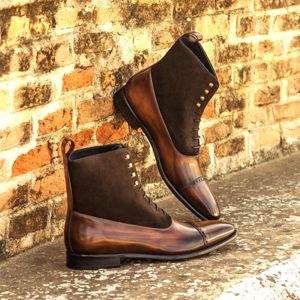 Brown Two-Tone Patina Balmoral