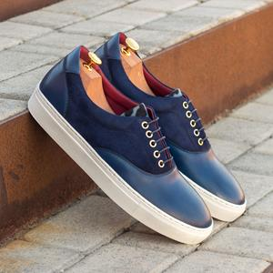 Blue Two-Tone Top Sider