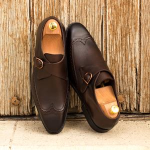 Brown Burnished Single Monk