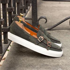 Green Camo Monk Sneaker