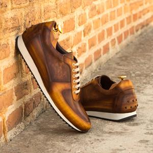 Brown Patina Corsini Sneaker