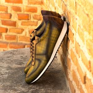 Green Patina Corsini Sneaker