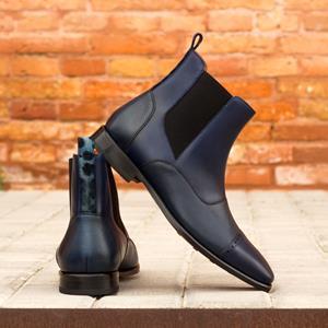Black Calf Chelsea Boot