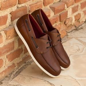 Brown Calf Classic Boat Shoe