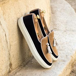 Black & Tan Belgian Sneaker