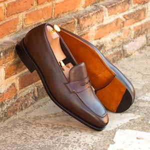 Dark Brown Full Grain Loafer
